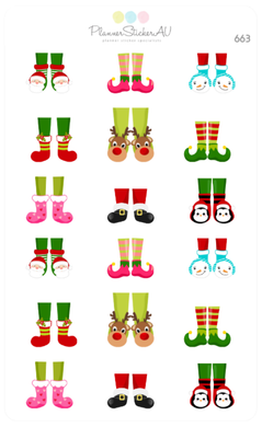 Christmas Elf Feet | 663