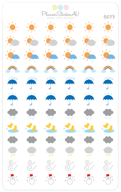 Mini Weather Icons | 8073