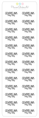 Mini Sheet | Centrelink Pay Day | 9032