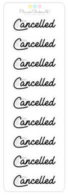 Cancelled Toilet Paper | 9311