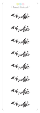 Mini Sheet | Be Humble | 9356