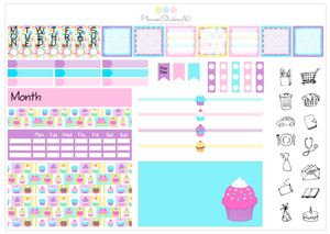 Hobonichi Weekly Kit | Cupcakes | 6052