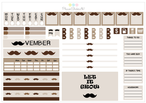 Hobonichi Weekly Kit | MOVEMBER | 6075
