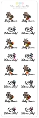 Mini Sheet | Baby Shower | 9095