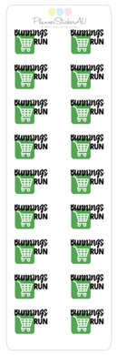 Mini Sheet | Bunnings Run | 9022
