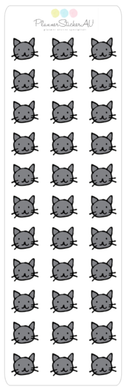 Mini Sheet | Icons | Cat Faces | 9102