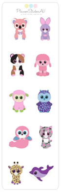 Mini Sheet | Cutest Animals Ever 2 | 9051