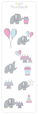 Mini Sheet | Birthday Elephants | 9016