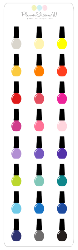 Mini Sheet | Nail Polish | 9167