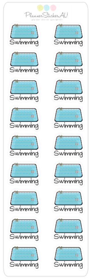 Mini Sheet | Swimming Pool | 9230