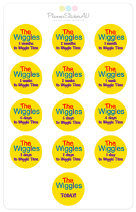 Wiggles Concert Countdown | Limited Stock