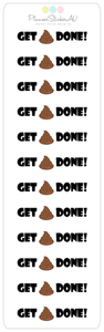 ADULT CONTENT | Mini Sheet | Get Shit Done Icon | 9076