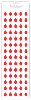 Mini Sheet | Blood Drop | 9019