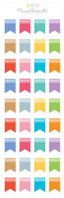 Mini Sheet | Pay Day Flag | 9187