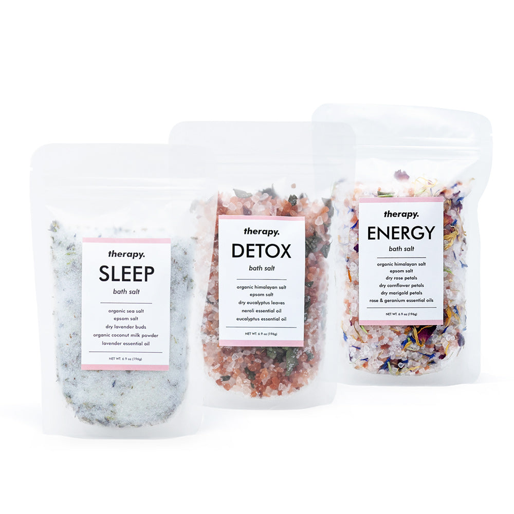 Therapy Bath Salts Bundle