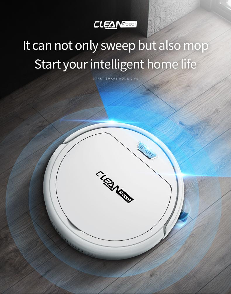Intelligent Sweeping Robot Household Sweep Drag Automatic Cleaner/ Free Shipping