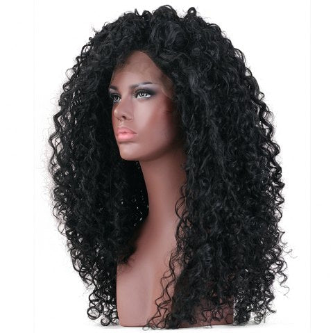 Foxwigs Lace Front Wigs Long Curly Haircut Lace Frontal Hair Wig/Free Shipping