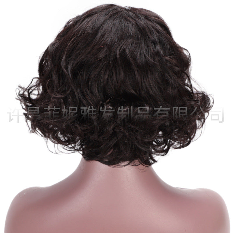 Exclusive African American Bob Hairstyles Short Curly Bob Lace Frontal Wigs For Women/Free Shipping