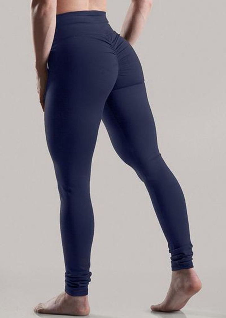 Solid Seamless High Waisted Yoga Pants Butt Lifting Leggings/Free Shipping