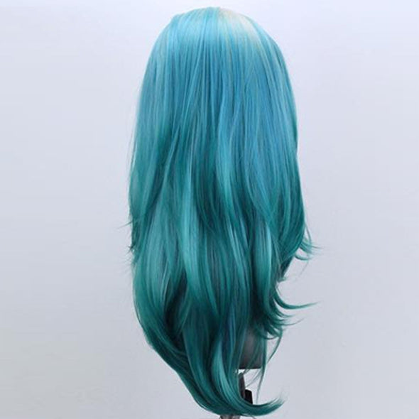 Chaming Starry Sky Hair Lace Frontal Bob Cosplay Wigs-- Last Day Promotion 50% OFF