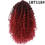 Puff Afro Short Wrap Curly Ponytail Hair Bun Chignon Rubber Band For Black Women/Free Shipping