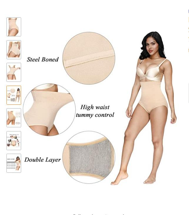 Body Shaper for Women High Waisted Tummy Firm Control Slimming Waist Panties/Free Shipping
