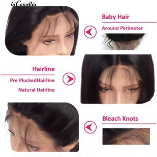 Brazilian Lace Front Wig Natural Hairpiece