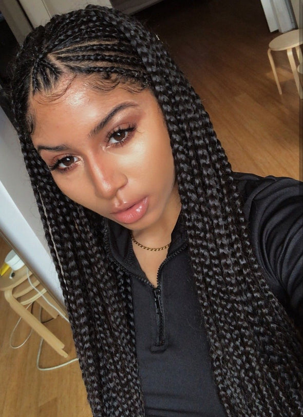 Black Box Braids Hair 3pcs/Pack Crochet Braids Hair Extensions{Last Day Promotion 80% OFF}