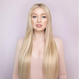 new arrival straight blond hair