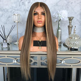 Brown natural wig¡ꡧNew product discount¡ê?