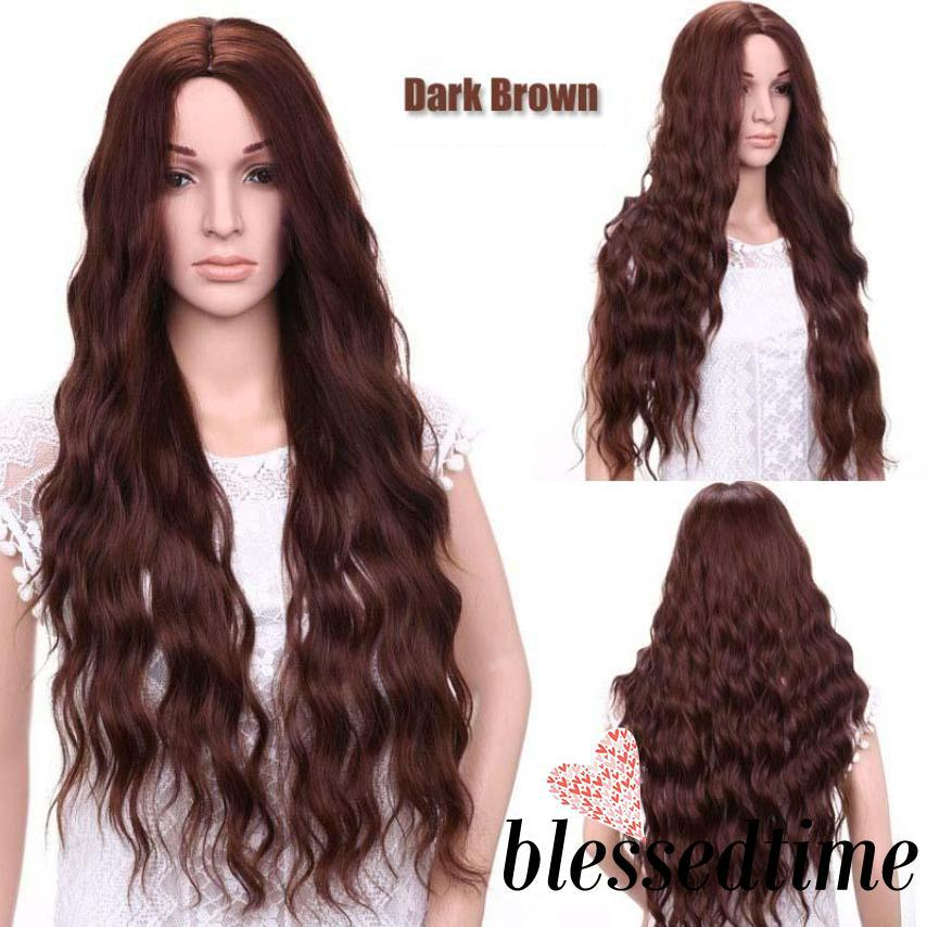 Lace High Temperature Fiber Long Straight Blonde Synthetic Lace Front Wig/Free Shipping