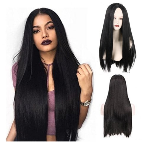 Fashionable Restore Ancient Ways in Cent Long Straight Hair Personality Wig