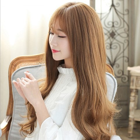 Fashion Fluffy Face Repair Long Wig/Free Shipping