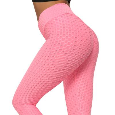 Free Shipping --Butt Lifting Anti Cellulite Sexy Leggings for Women High Waisted Yoga Pants Workout Tummy Control Sport Tights