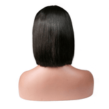 Lace Front Virgin Straight Bob Wig/Free Shipping