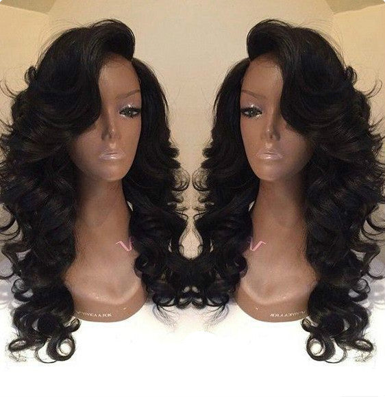 Wigsfox 10  Side Bangs Bob Wigs For African American Women The Same As The Hairstyle In Picture