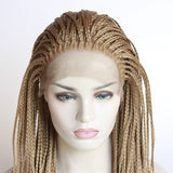 Long Straight Lace Front Wig Heat Fashion Synthetic Hair Middle Part/Free Shipping