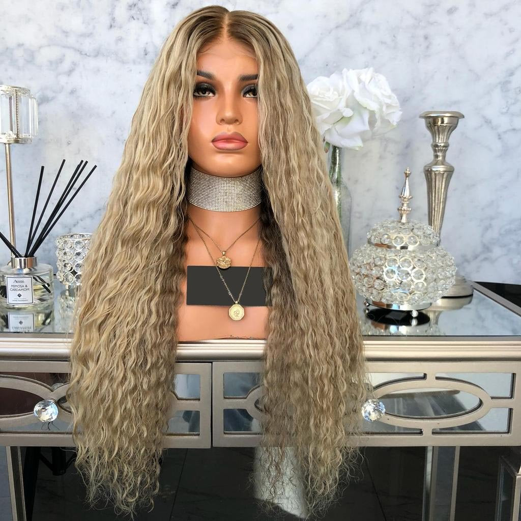 Brown wave Wig??New product discount?¨º?/Free Shipping