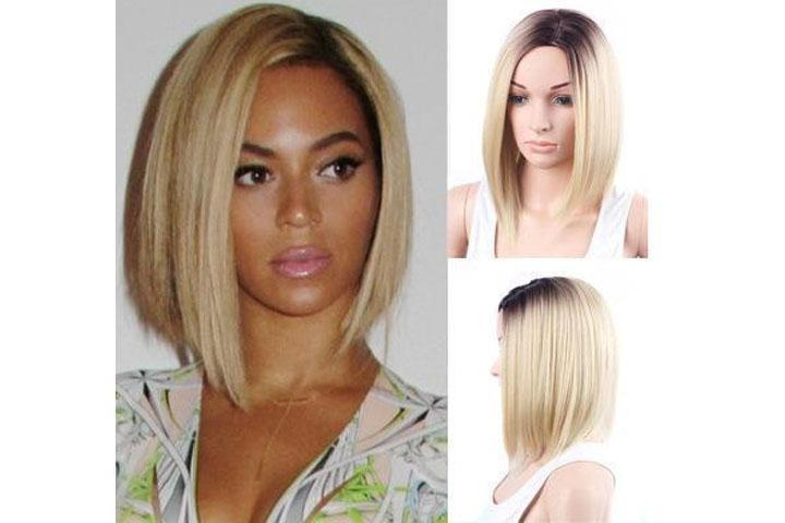 BlackBlonde Ombre Beyonce Bob Wig/Free Shipping