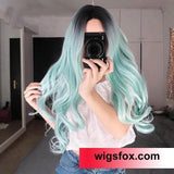Synthetic Stylish and Wavy Long Layered Wig