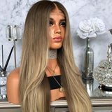 Long Fashion Straight Sexy Brown Wig/Free Shipping