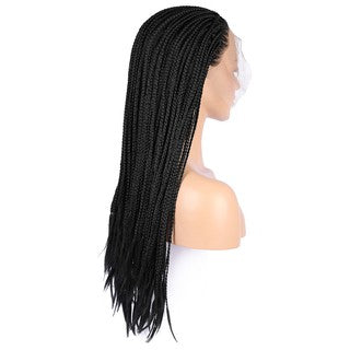 Stant Sythentic Fashion Lace Front Wig Black Wave Hair/Free Shipping