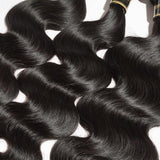 BODY WAVY DIAMOND 8A VIRGIN BRAZILIAN HAIR NATURAL BLACK 100g/Free Shipping