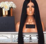Glamorous Women Straight Long Lace Front Wig/Free Shipping