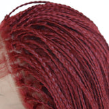 African Afro dirty scorpion Three scorpions 12-26inches women front lace hairpieces wigs