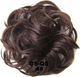 20 Colors Women Gorgenous Messy Hair Bun For Wedding/Party/Free Shipping