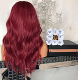Long wavy red hair/Free Shipping