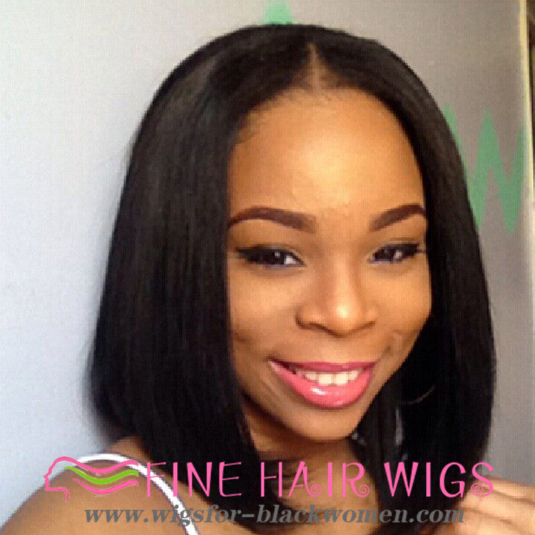 Wigsfox 6  Short Curly Wigs For African American Women The Same As The Hairstyle In The Picture