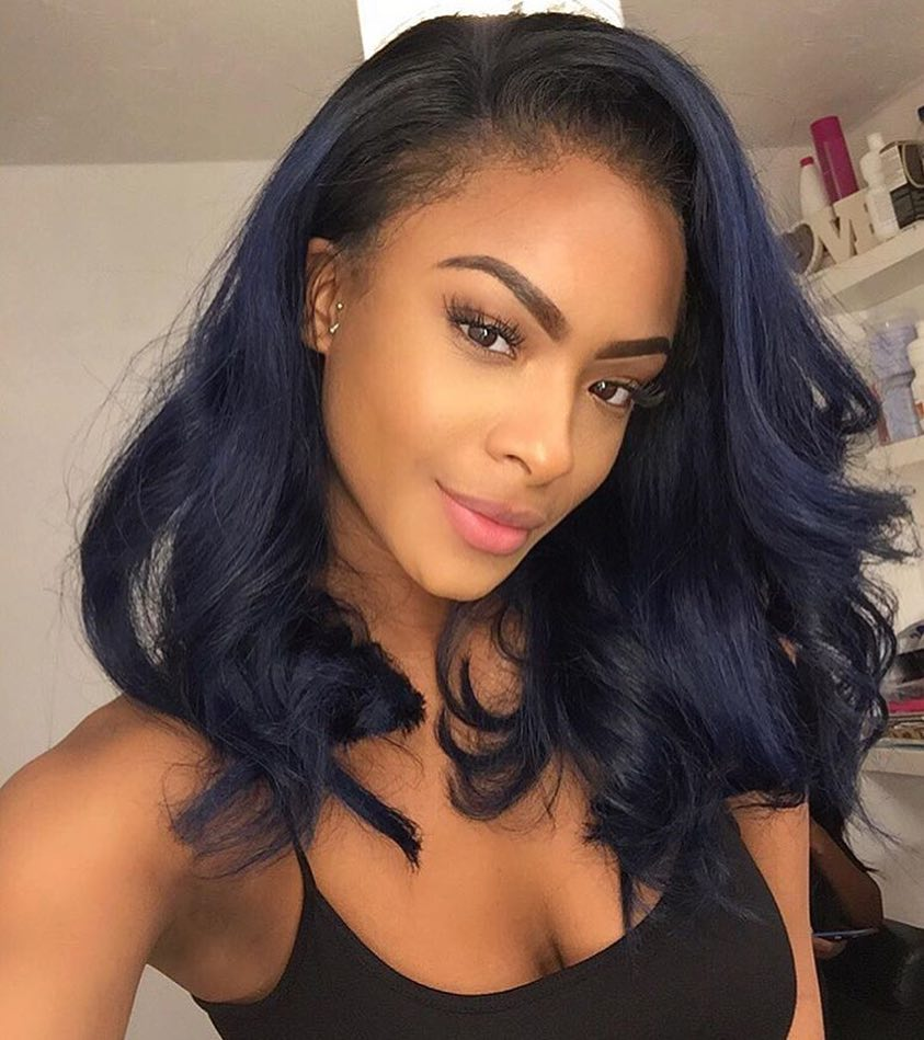 Wigsfox 24  Wavy Long Wigs For African American Women The Same As The Hairstyle In Picture