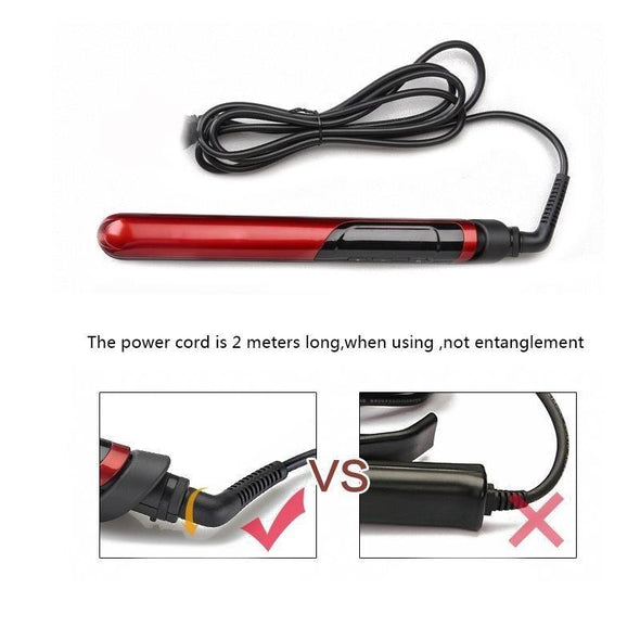 Professional RED Hair Straightener